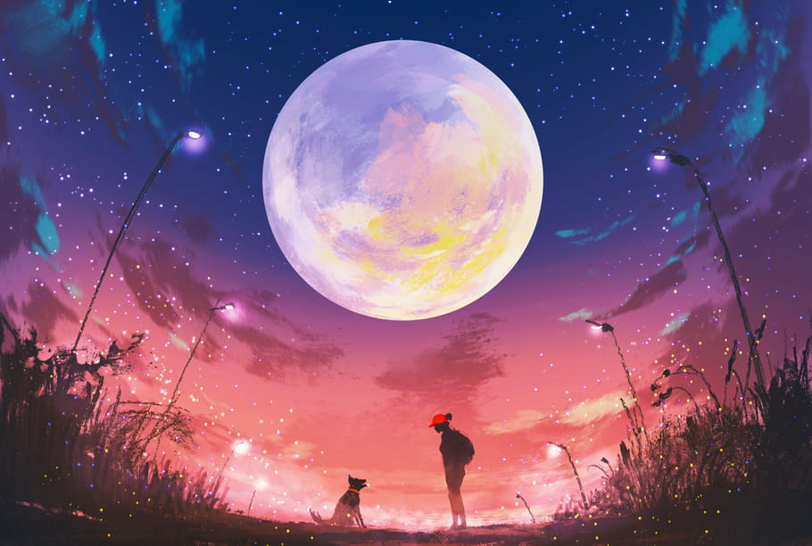 Comptine Bonsoir Madame la Lune
