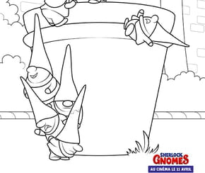 Les nains de jardin de Sherlock Gnomes