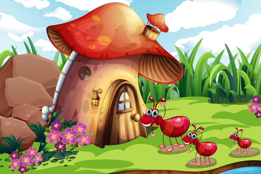 Comptine Une fourmi rouge
