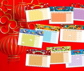 Calendrier2021du Nouvel an chinois