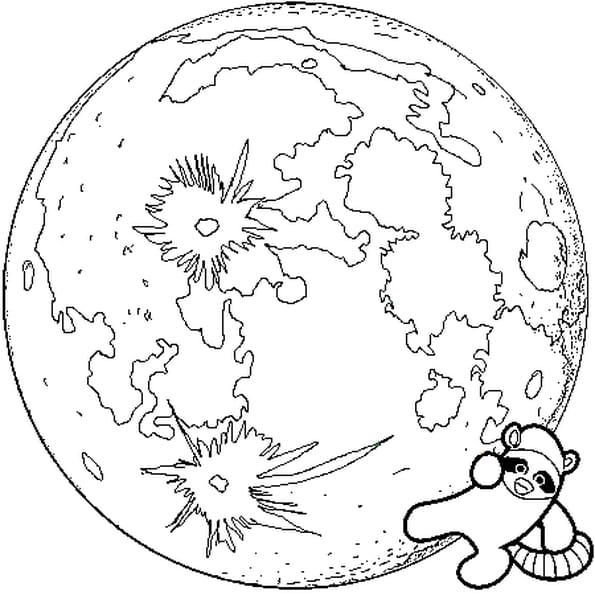 Lune coloriage lune en ligne gratuit a imprimer sur coloriage tv - La lune coloriage ...