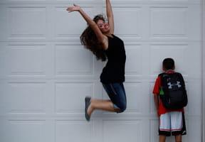 C'est la rentrée: les meilleures photos des parents