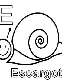 E comme Escargot