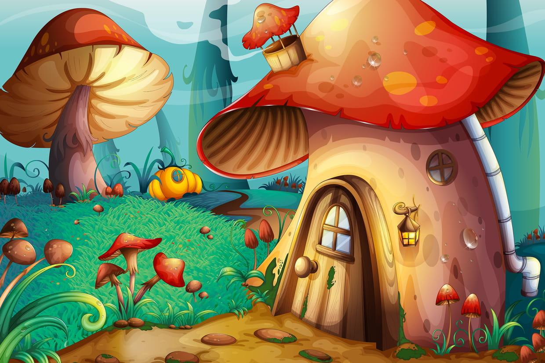 Coloriage Les Champignons Sur Hugolescargot Com