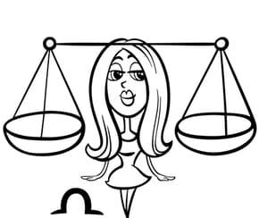 Signe du Zodiaque la Balance