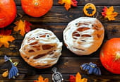 Cupcakes momies pour Halloween [VIDEO]