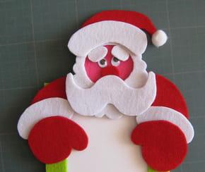 Le cadre photo de Noël