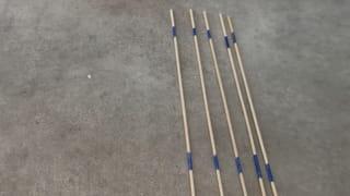 Étape 2: Fabriquez les 5baguettes Mandarin de 5points