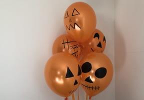 Ballons tête-de-mort pour Halloween [VIDEO]