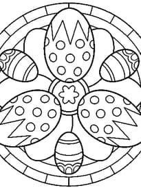 Mandala de Pâques