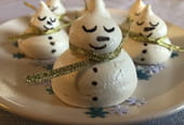 Meringues de Noël bonhommes de neige [VIDEO]
