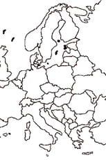 carte europe dessin