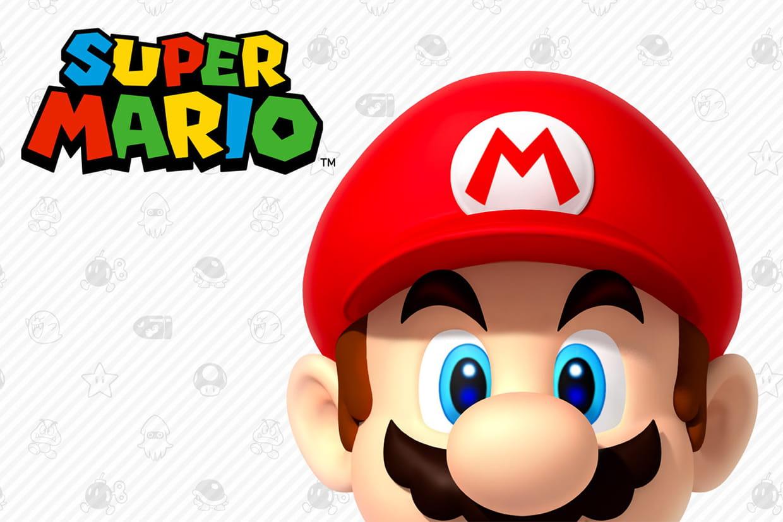 Coloriage Mario
