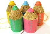 Des minis crayons pour décorer