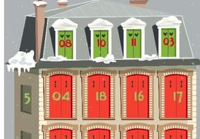 Maison Calendrier de l'Avent