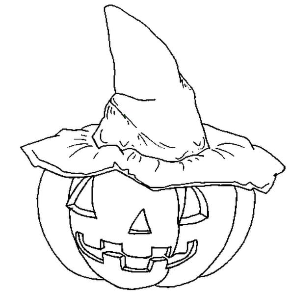 Coloriage Halloween Citrouille En Ligne Gratuit A Imprimer