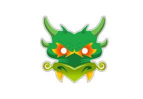 Masque de Dragon pour Halloween