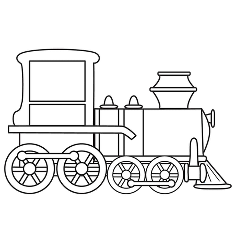 Coloriage Petit Train En Ligne Gratuit A Imprimer