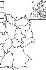 Coloriage carte Allemagne