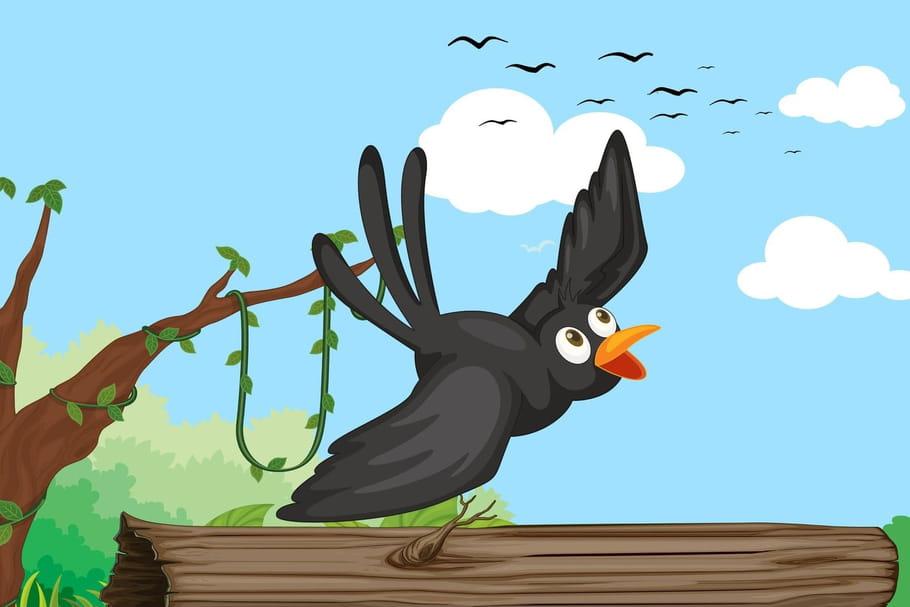 Comptine Les corbeaux