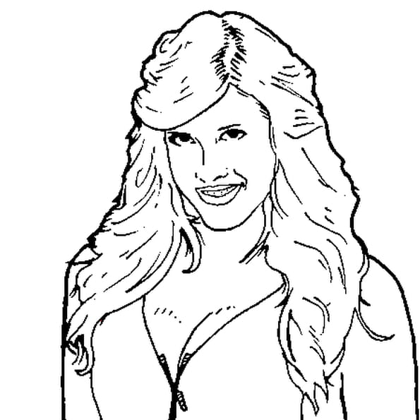 Dessin Kelly Kelly a colorier