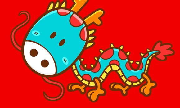 Zodiaque chinois pour enfants
