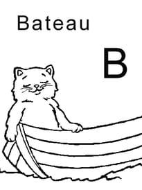lettre B comme bateau
