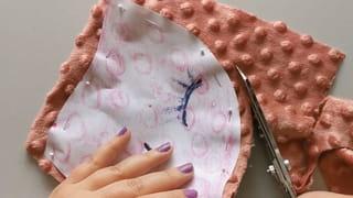 Étape 2: couper le tissu à l'aide du patron