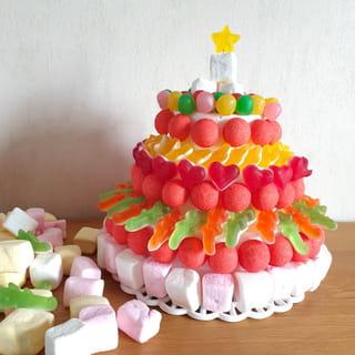 Votre gâteau de bonbons est terminé!