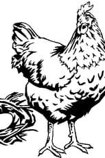 Coloriage Poule et oeufs