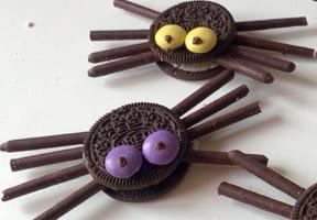 Biscuits Araignées [VIDÉO]