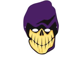 Masque de la mort pour Halloween