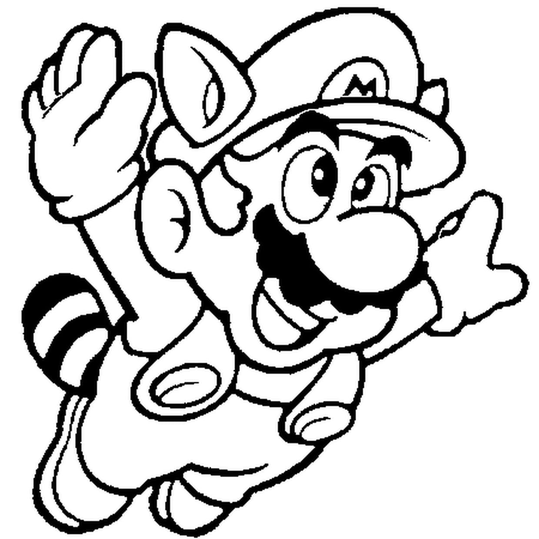 Coloriage Mario En Ligne Gratuit A Imprimer