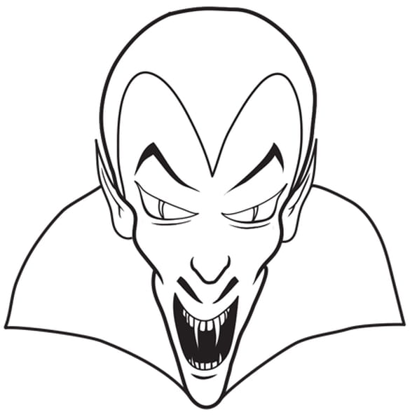 Comment dessiner un vampire - Coloriage de vampire a imprimer ...