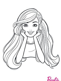Coloriage Barbie Sur Hugolescargot Com