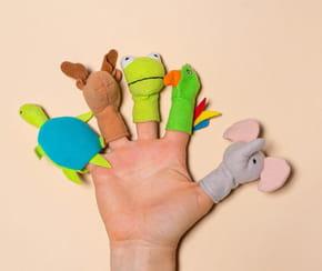 Marionnette à doigts à fabriquer