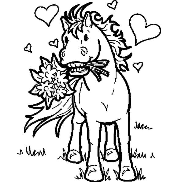 Cheval de cirque coloriage cheval de cirque en ligne - Dessin a colorier cheval ...