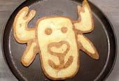 Pancake renne de Noël