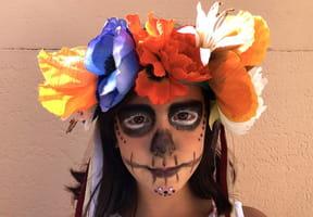 Couronne de fleurs pour Halloween [VIDEO]