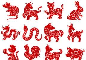 Les signes du zodiaque chinois