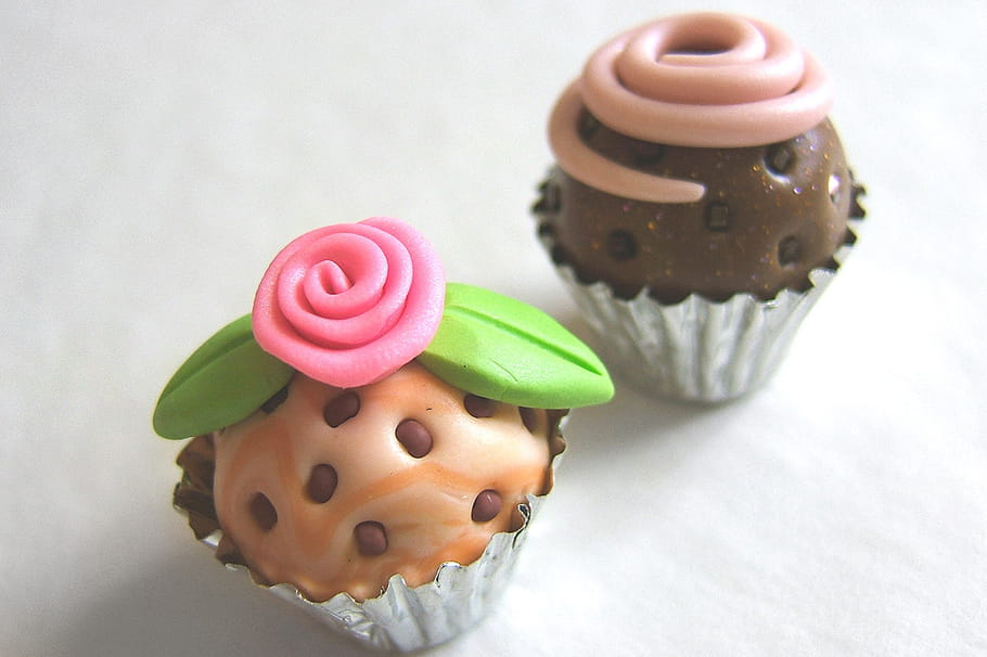 Cupcakes en pâte FIMO