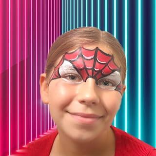 Votre maquillage Spiderman est terminé!