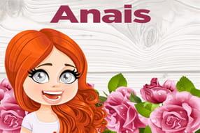Anais : prénom de fille lettre A