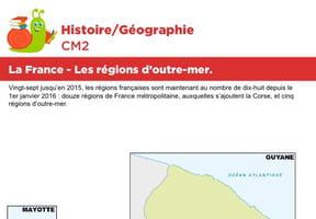 La France, les régions d'outre-mer