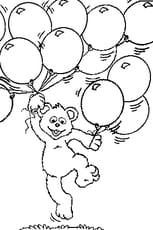 Coloriage Ballon en Ligne Gratuit à imprimer