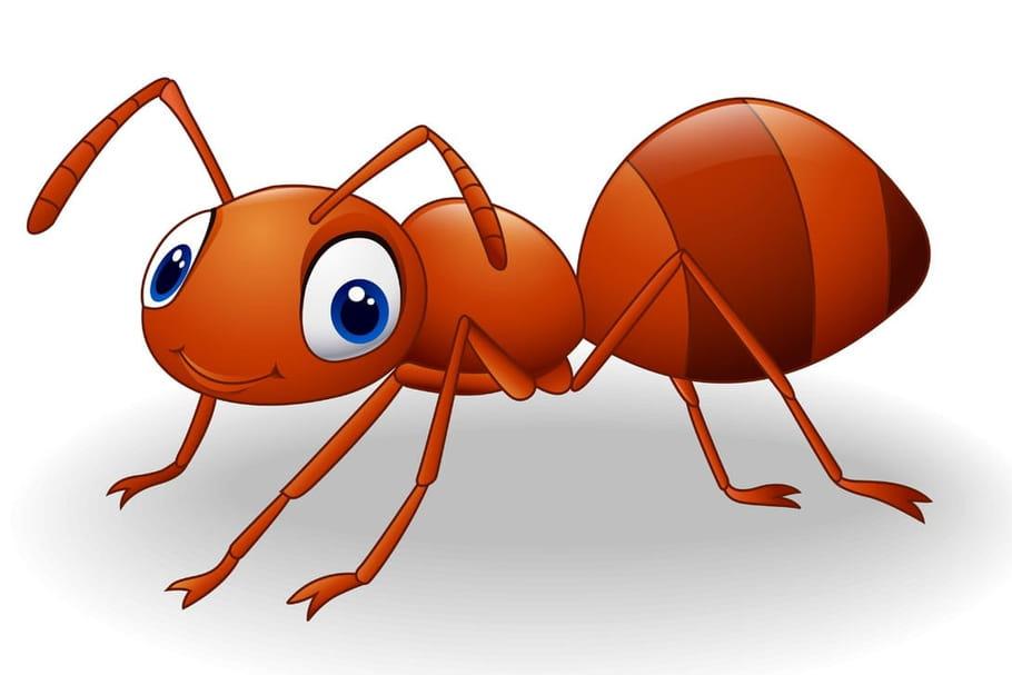 Comptine Une fourmi de dix-huit mètres