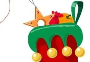 Dessiner une botte de Noël