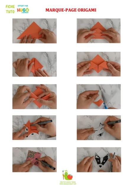 marque-page-origami