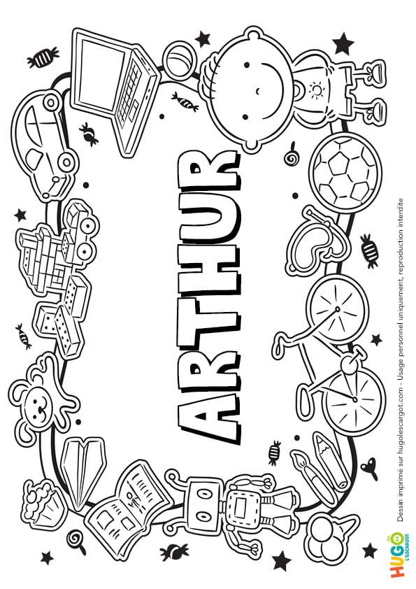 Arthur prénom de garçon version3