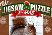 Jeu: puzzle de Noël